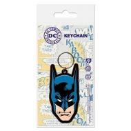 Batman - Porte-clés caoutchouc Batman 6 cm
