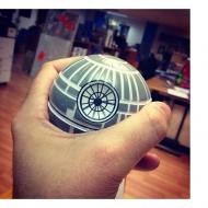 Star Wars - Figurine anti-stress Etoile Noire 8 cm