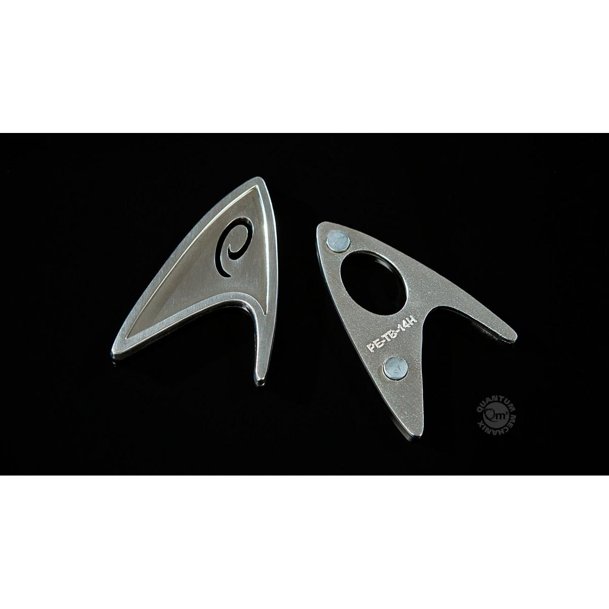 star trek 2009 r plique 1 1 starfleet badge engineering division magn tique figurine discount. Black Bedroom Furniture Sets. Home Design Ideas