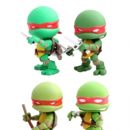 Les Tortues Ninja - Pack 4 figurines Original Comic 8 cm