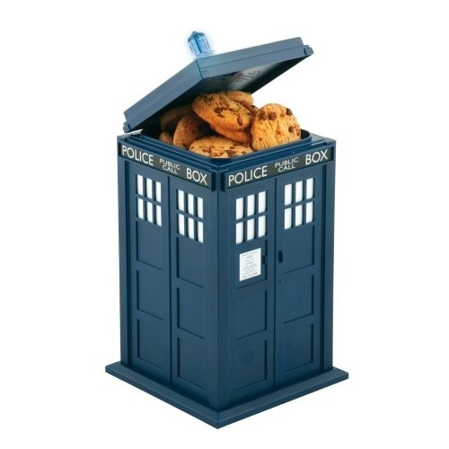 Doctor Who - Boite a Cookie Sonore 24cm