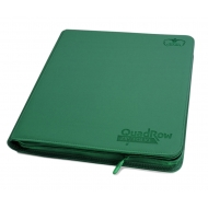 Ultimate Guard - 12-Pocket QuadRow ZipFolio XenoSkin Vert