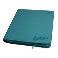 Ultimate Guard - 12-Pocket QuadRow ZipFolio XenoSkin Bleu Pétrole