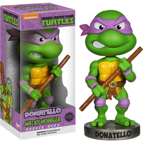 Les Tortues Ninja - Figurine Wacky Wobbler Bobble Head Donatello 15 cm