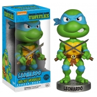 Les Tortues Ninja - Figurine Wacky Wobbler Bobble Head Leonardo 15 cm