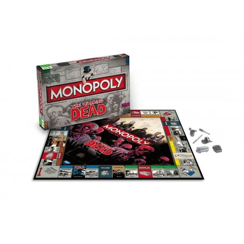 The Walking Dead - Jeu de plateau Monopoly *FRANCAIS*