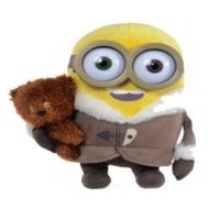 Minions - Peluche Ice Village Bob avec ours 28 cm