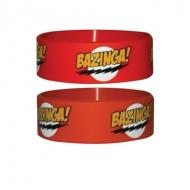 The Big Bang Theory - Bracelet caoutchouc Red Bazinga