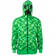 Minecraft - Sweat à capuche Creeper Premium