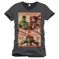 Avengers Assemble - T-Shirt Hulk Vs Hulkbuster