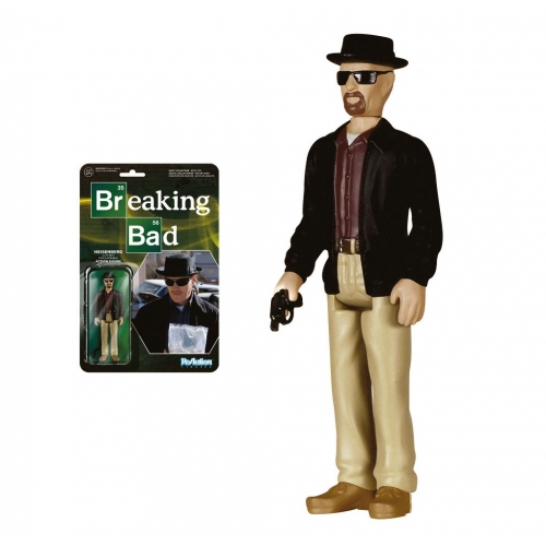 Breaking Bad - ReAction -Figurine Heisenberg 10 cm
