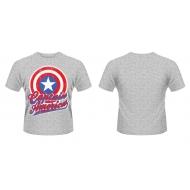 Avengers Assemble - T-Shirt Captain America Colour Shield