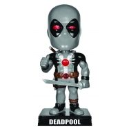 Marvel Comics - Figurine Wacky Wobbler Bobble Head Deadpool X-Force Costume 15 cm