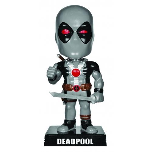 Marvel Comics - Figurine Wacky Wobbler Bobble Head Deadpool X-Force Costume 15 cm