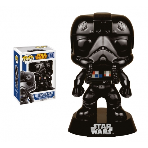 Star Wars - Figurine POP! Vinyl Tie Fighter Pilot 9 cm