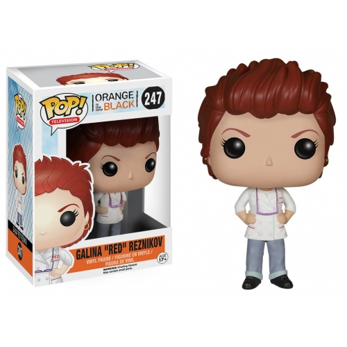 Orange Is the New Black - Figurine POP! Galina Red Reznikov 10 cm