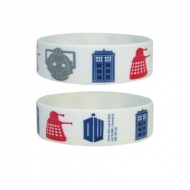Doctor Who - Bracelet caoutchouc Icons