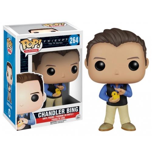 Friends - Figurine POP Chandler Bing 9 cm