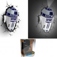 STAR WARS - Lampe décorative 3D R2D2