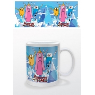 Adventure Time - Mug Princess, Jake & Finn