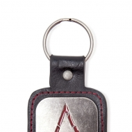 Assassin's Creed Rogue - Porte-clé métal Logo & PU Snap