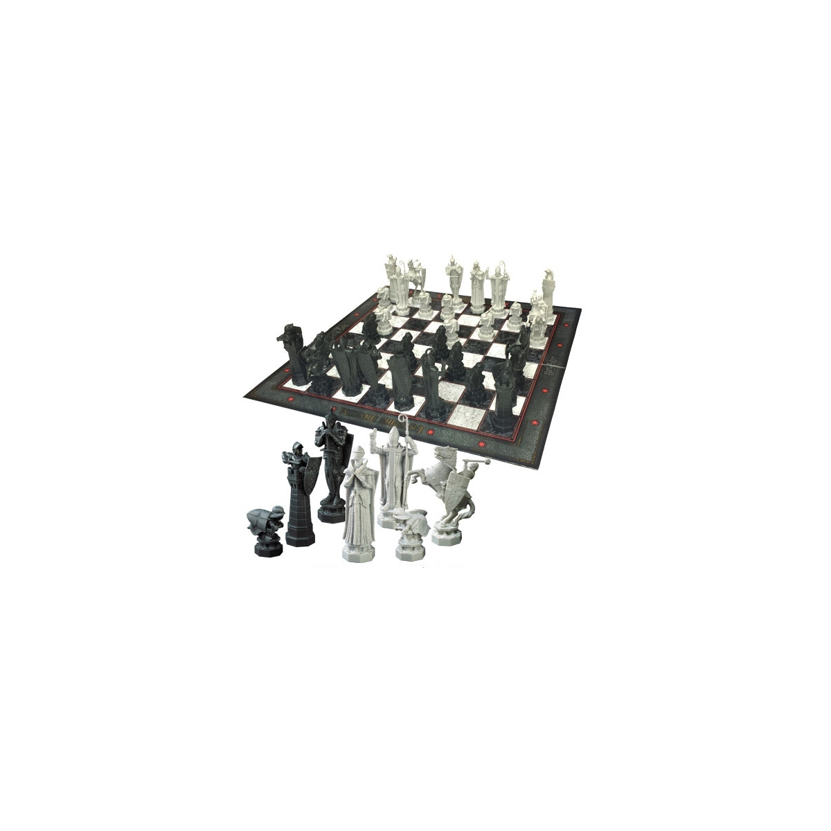 harry potter jeu d 39 checs wizards chess figurine discount. Black Bedroom Furniture Sets. Home Design Ideas