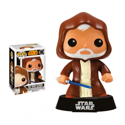 Star Wars - Figurine POP! Vinyl Obi-Wan Kenobi Black Box Re-Issue 10 cm