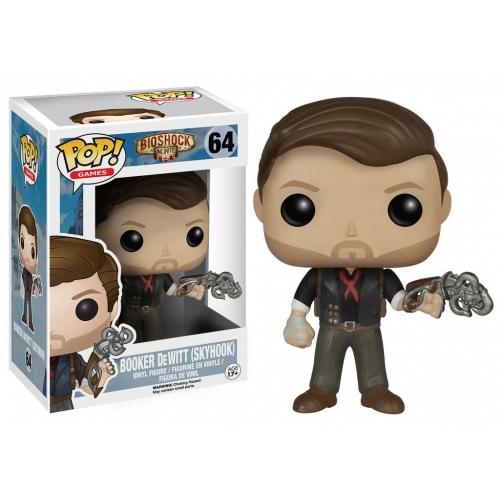 Bioshock - Figurine POP! Booker DeWitt & Skyhook 9 cm