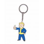 Fallout 4 - Porte-clés caoutchouc Vault Boy Approves