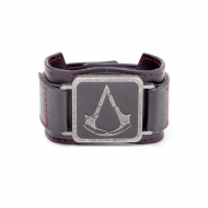 Assassin's Creed Rogue - Bracelet cuir Metal Crest