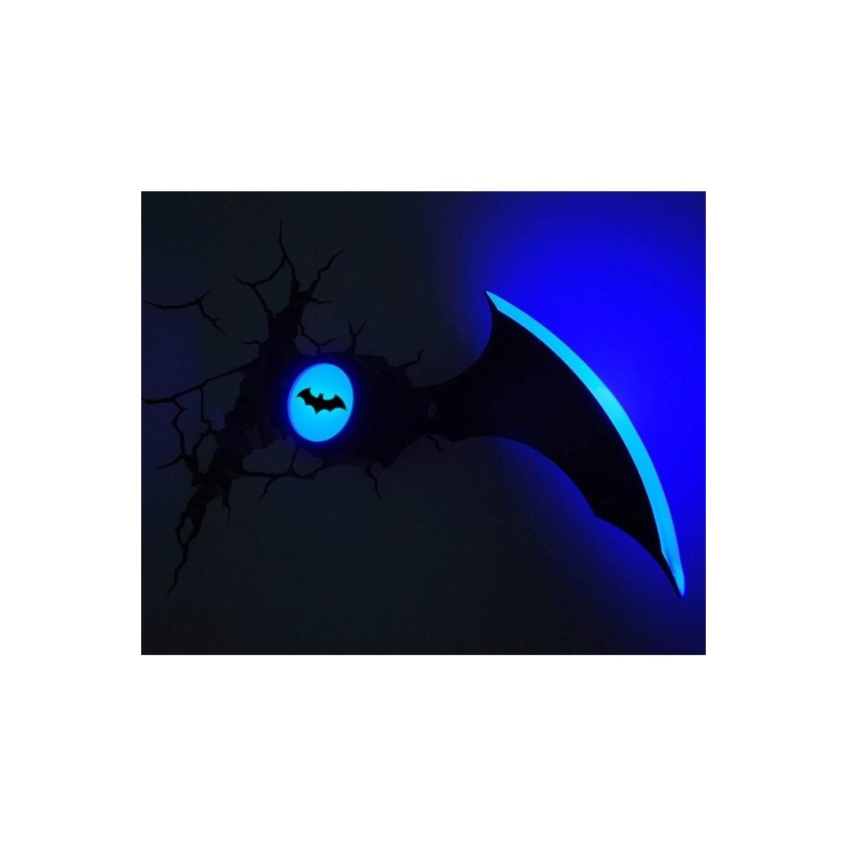 batman lampe 3d led batarang figurine discount. Black Bedroom Furniture Sets. Home Design Ideas