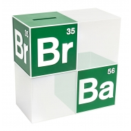 Breaking Bad - Tirelire / serre-livre BrBa Logo