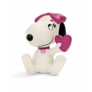 Snoopy - Figurine Belle avec coeur 6 cm