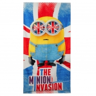 Les Minions - Serviette de bain The Minion Invasion 140 x 70 cm
