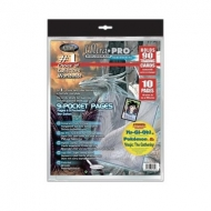 Ultra Pro - Pack 10 pages 9 pochettes Platinum Series