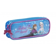 La Reine des neiges - Trousse simple compartiment 22cm
