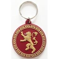 Le Trône de fer - Porte-clés caoutchouc Lannister 6 cm