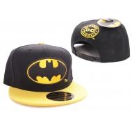 Batman - Casquette baseball Logo Black Bat Black