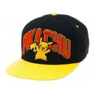 Pokemon - Casquette hip hop Snap Back Pikachu