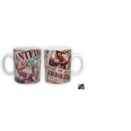 ONE PIECE - Mug Wanted Zorro (porcelaine) - 460 Ml