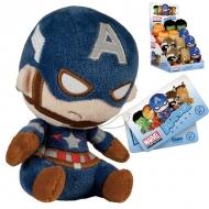 MARVEL - Peluche Funko Mopeez Captain America 12cm