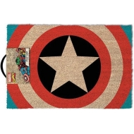 Marvel Comics - Paillasson Captain America Shield 40 x 60 cm