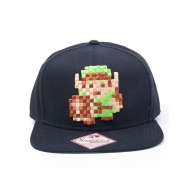 The Legend of Zelda - Casquette hip hop Link 8bit