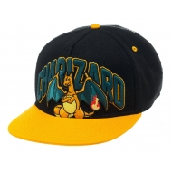 Pokemon - Casquette hip hop Snap Back Charizard