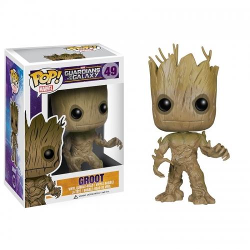 Les Gardiens de la Galaxie - Figurine Pop Groot 10cm
