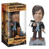 The Walking Dead - Figurine Bobble Head New Biker Daryl 18 cm