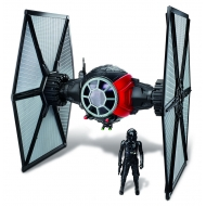 Star Wars Episode VII - Véhicule Deluxe avec figurine Class II 1st Order Special Forces TIE Fighter
