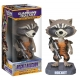Les Gardiens de la Galaxie - Figurine Bobble Head Rocket Raccoon 18cm