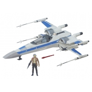 Star Wars Episode VII - Véhicule avec figurine 2015 Resistance X-Wing Exclusive