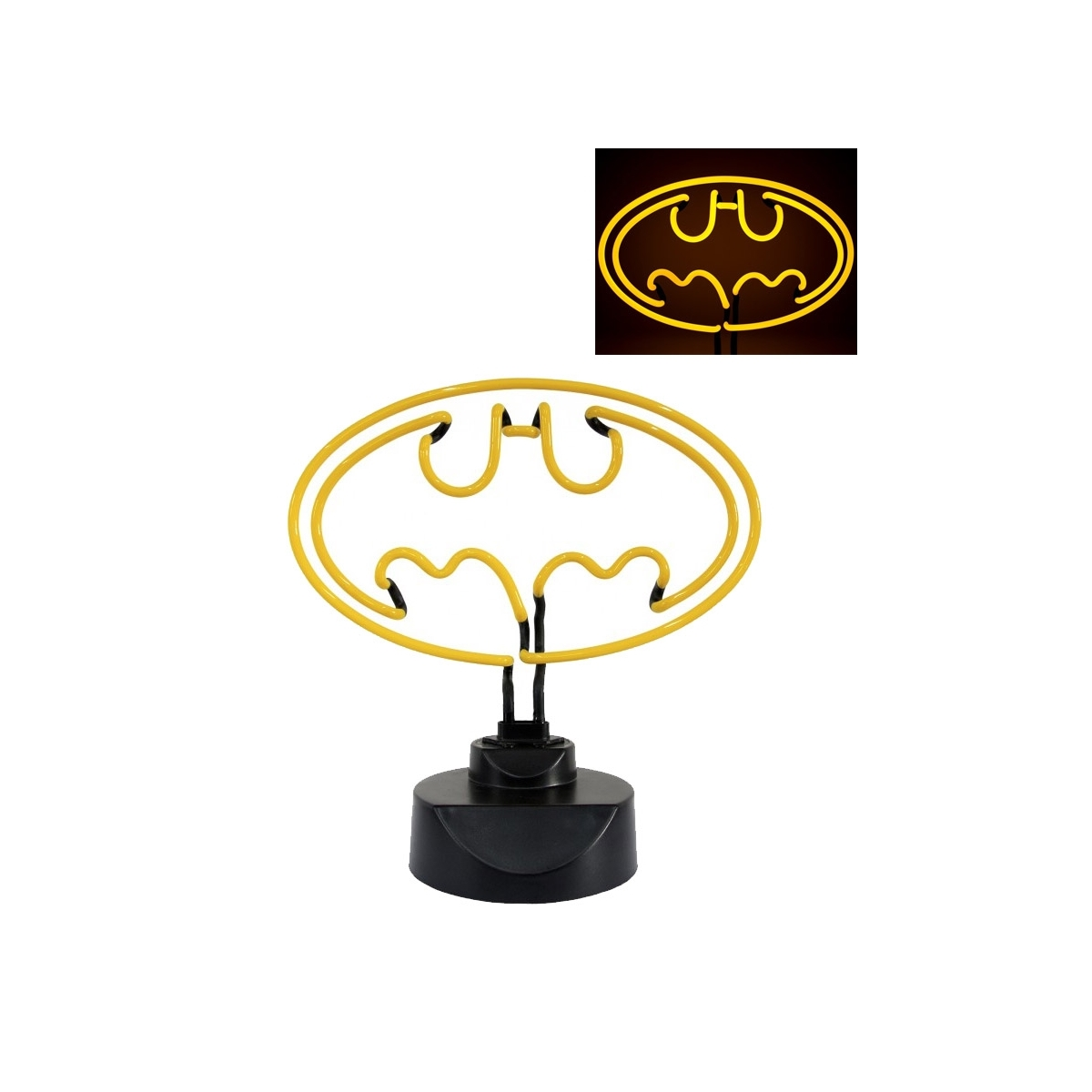 batman lampe neon batman figurine discount. Black Bedroom Furniture Sets. Home Design Ideas